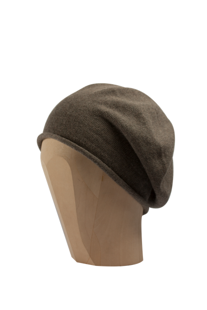 Kopka Cotton Roll-Up Beret - Tweed - product images  of