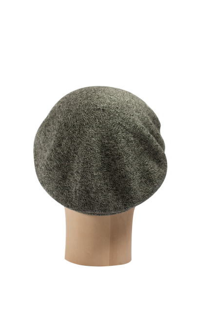 Kopka Cotton Roll-Up Beret - Salt & Pepper - product images  of