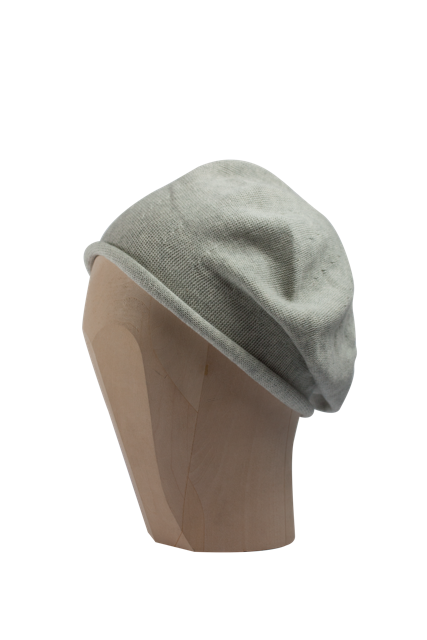 Kopka Cotton Roll-Up Beret - Heathered Marble - product images  of