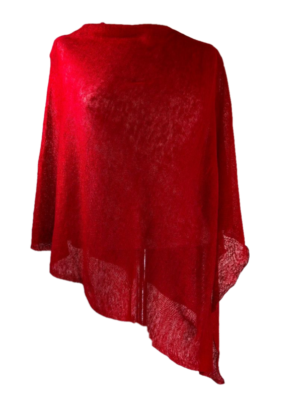 Poncho 100% Linen - Flamma - product images  of