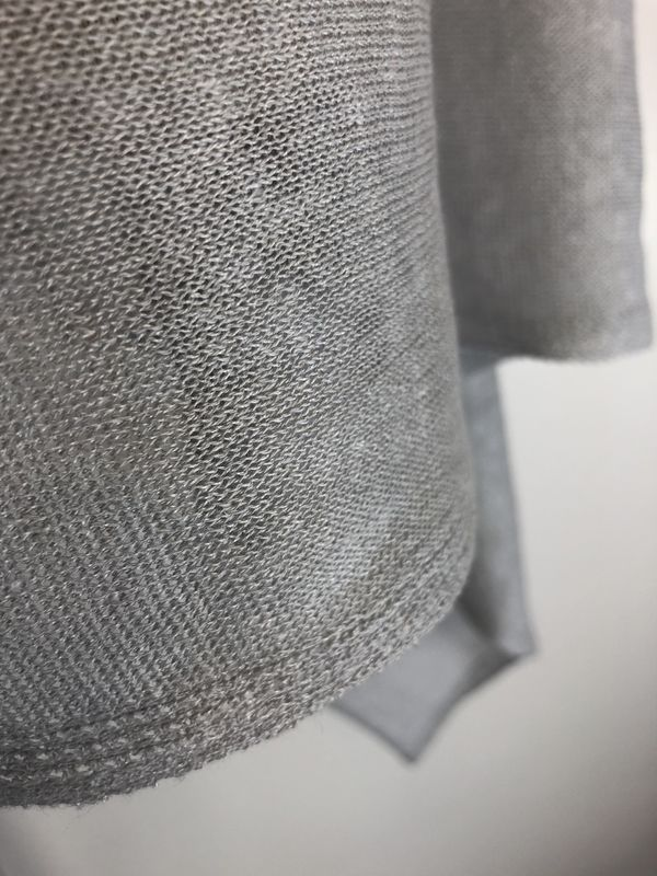 Poncho 100% Linen - Allumino - product images  of