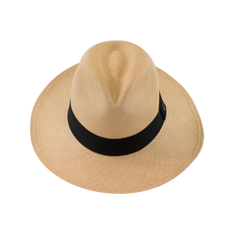 Classic Panama Natural with Black Band - product images  of