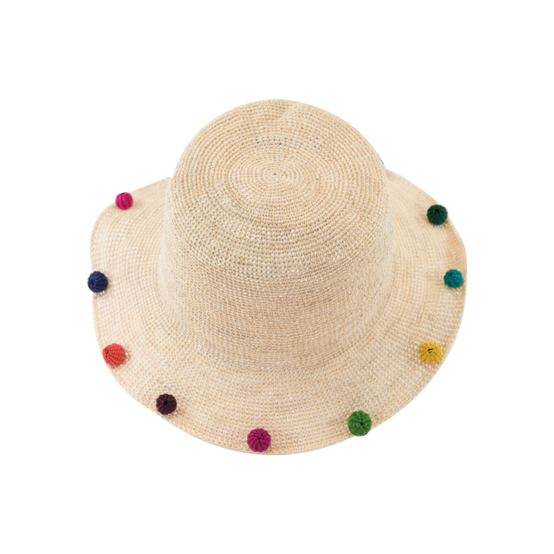 Hippie Natural Hawaiian Brim - product images  of