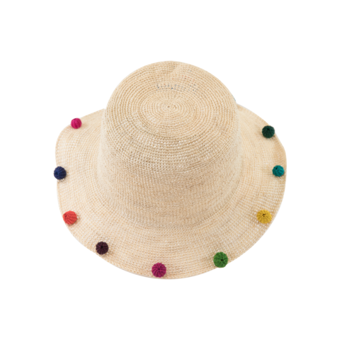 Hippie,Natural,Hawaiian,Brim,Hippie Natural Hawaiian Brim