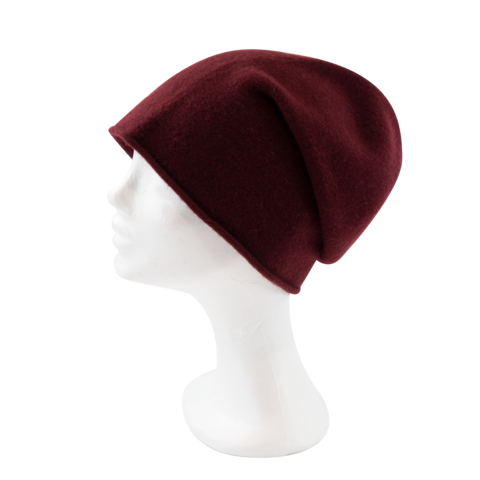 Kopka,NeRo,Beanie,-,Bordeaux,Kopka Ne Ro Beanie - Wool Wolle Bordeaux Rot Red