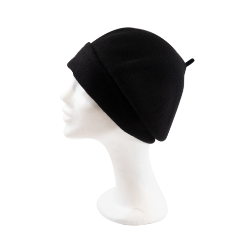 Kopka,Roll,Up,Beret,-,Black,Beret Kopka Wool Rollup - Black