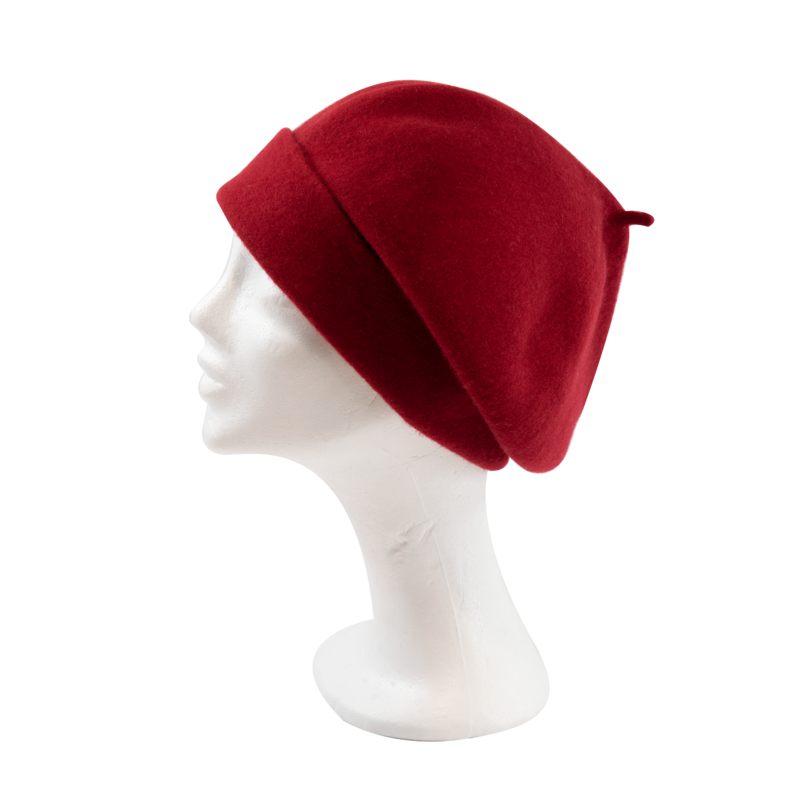 Kopka Roll Up Beret - Chili - product images