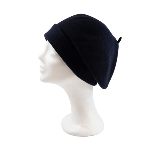 Kopka,Roll,Up,Beret,-,Midnight,Blue,Beret Kopka Wool Rollup - Midnight Blue