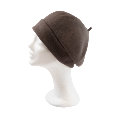 Kopka,Roll,Up,Beret,-,Mud,Beret Kopka Wool Rollup - Mud