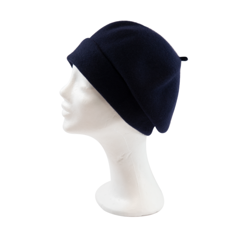 Kopka,Roll,Up,Beret,-,Navy,Beret Kopka Wool Rollup - Navy