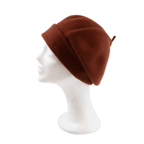 Kopka,Roll,Up,Beret,-,Rust,Beret Kopka Wool Rollup - Rust