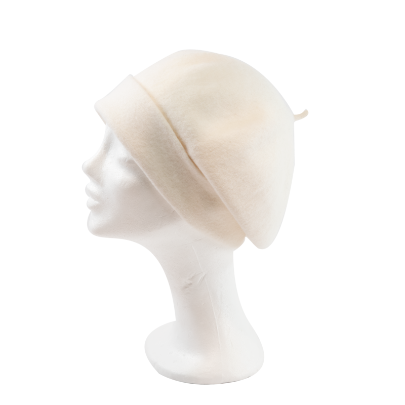 Kopka Roll Up Beret - White - product images