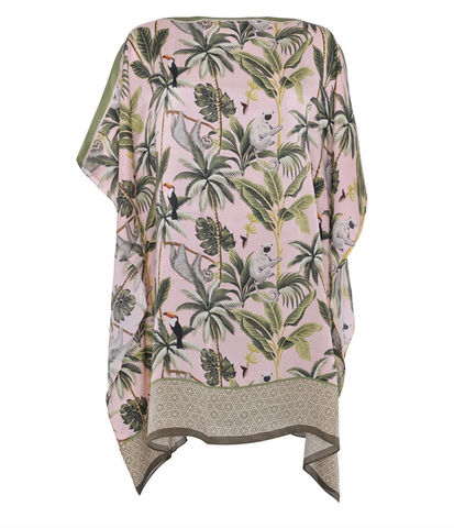 Kaftan,long,-,Wild,Jungle,Kaftan Silk