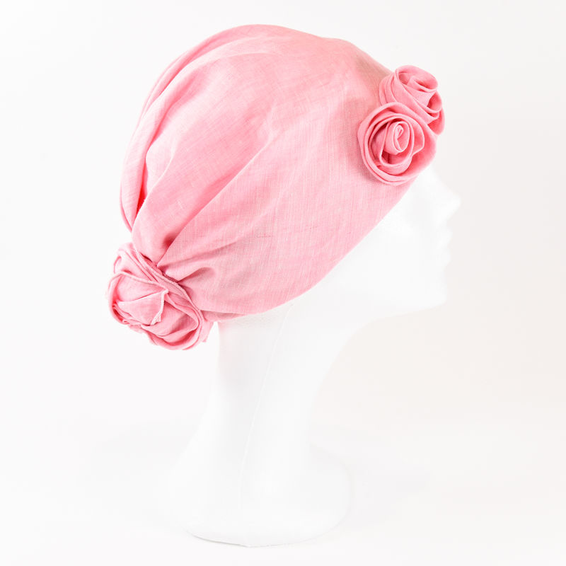 Linen Turban - Rosa - product images  of