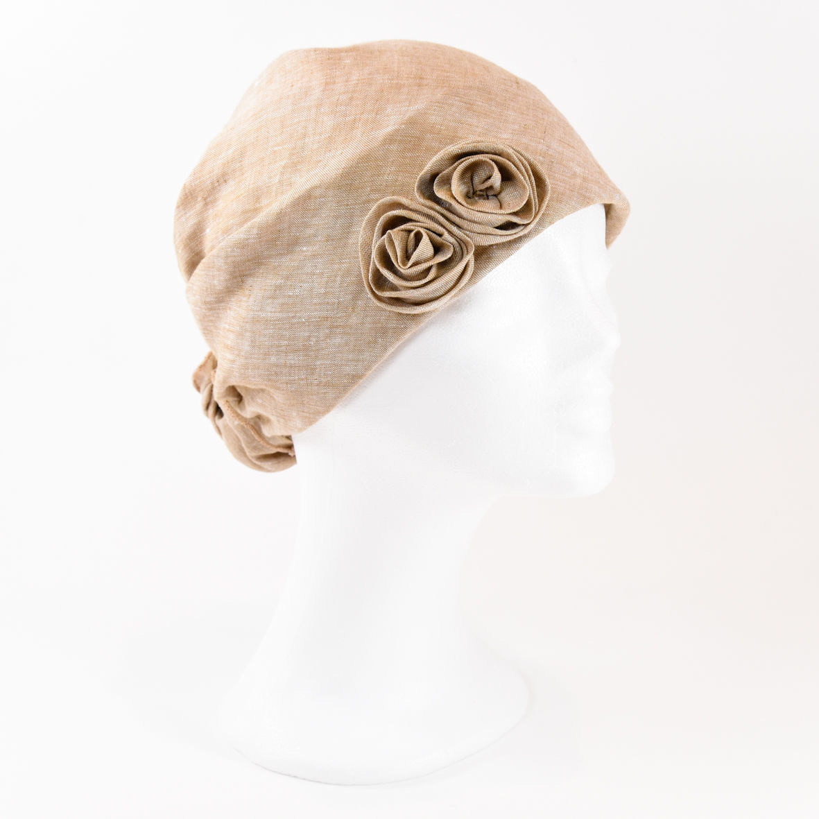Linen Turban - Honey - product images  of