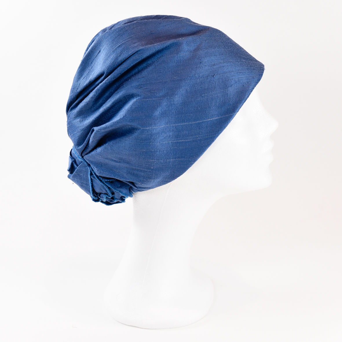 Silk Turban - Ocean Blue - product images  of