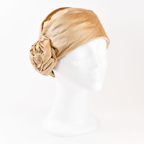 Silk,Turban,-,Honey,Turban chemo hairloss