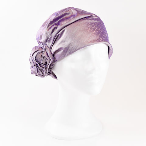 Silk,Turban,-,Lavender,Turban chemo hairloss