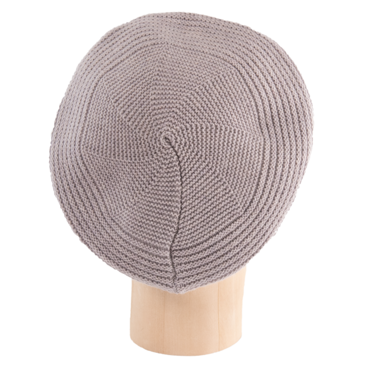 Horizontal Knit Beanie - TAUPE - product images  of
