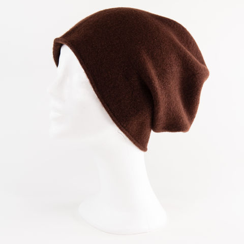 Kopka,NeRo,Beanie,-,Chocolate,Kopka Ne Ro Beanie - Wool Wolle Unisex Chocolate Braun Brown dark dunkel