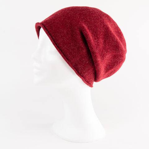 Kopka,NeRo,Beanie,-,Ruby,Mix,Kopka Ne Ro Beanie - Wool Wolle Unisex Ruby Mix Melliert Rubin Rot Red