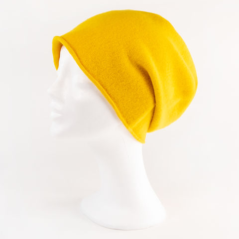 Kopka,NeRo,Beanie,-,Yellow,Kopka Ne Ro Beanie - Wool Wolle Unisex Yellow Gelb Bright Hell Light