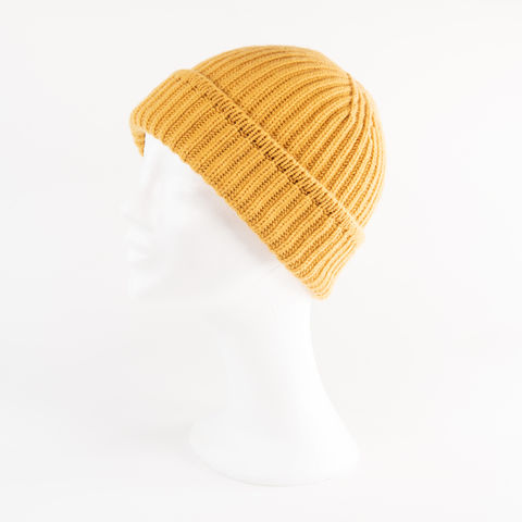 Classic,Ribbed,Beanie,Cuff,-,SUNFLOWER,lassic ribbed Beanie Cuff cashmere kaschmir italy unisex men woman sunflower gold yellow gelb sonne sonnenblume sun