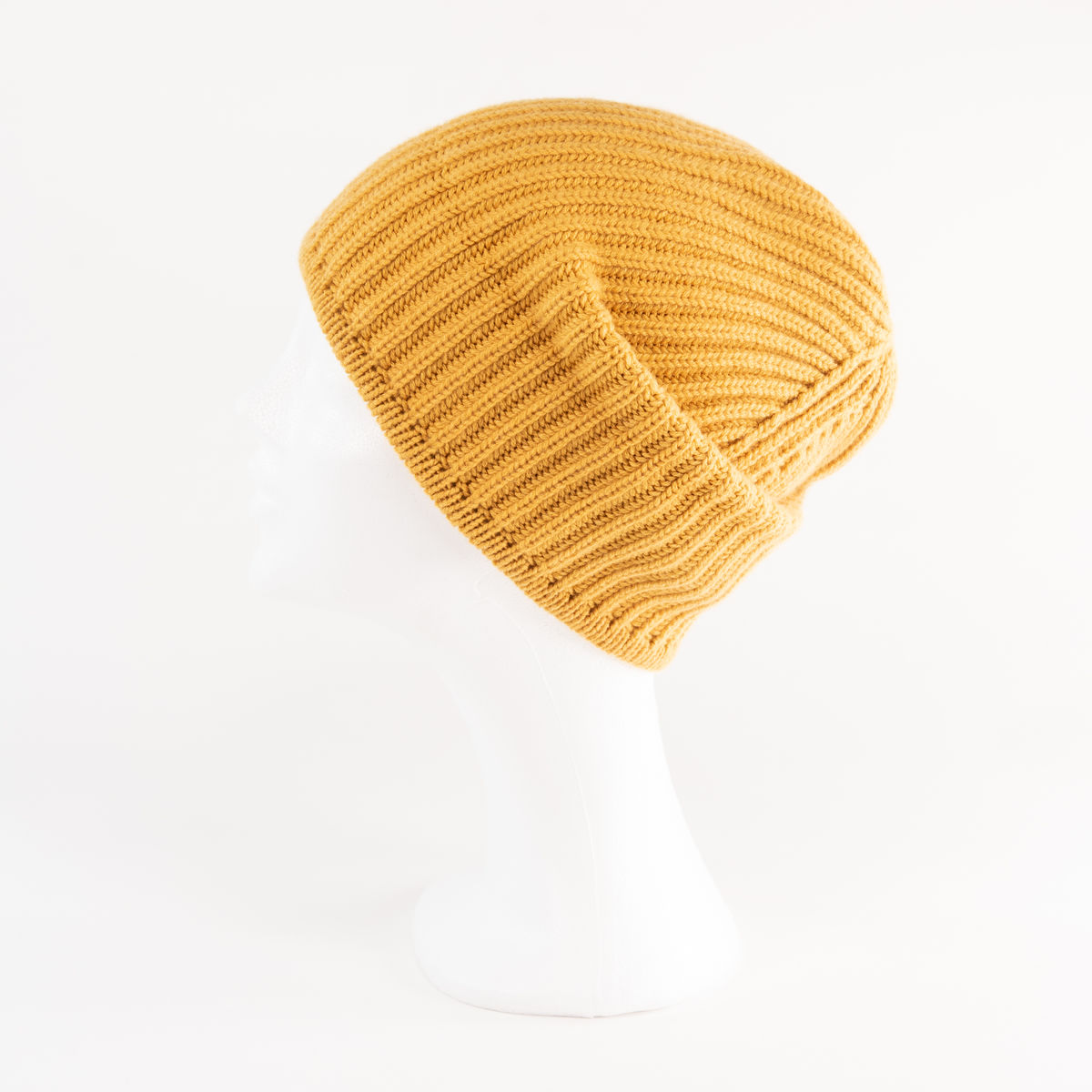 Classic Ribbed Beanie Cuff - SUNFLOWER - product images  of