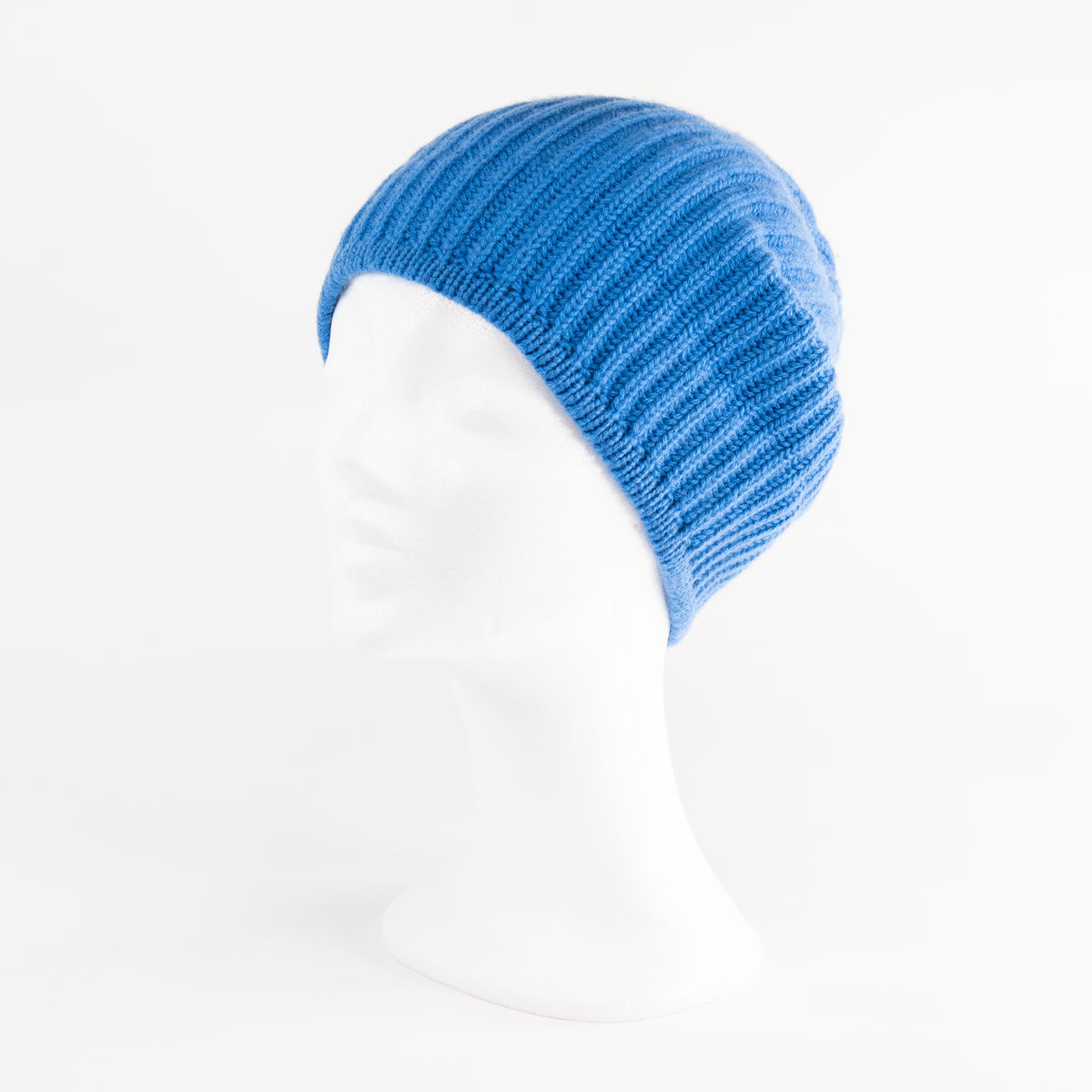 Classic Ribbed Beanie Cuff - CARIBBEAN BLUE - product images  of