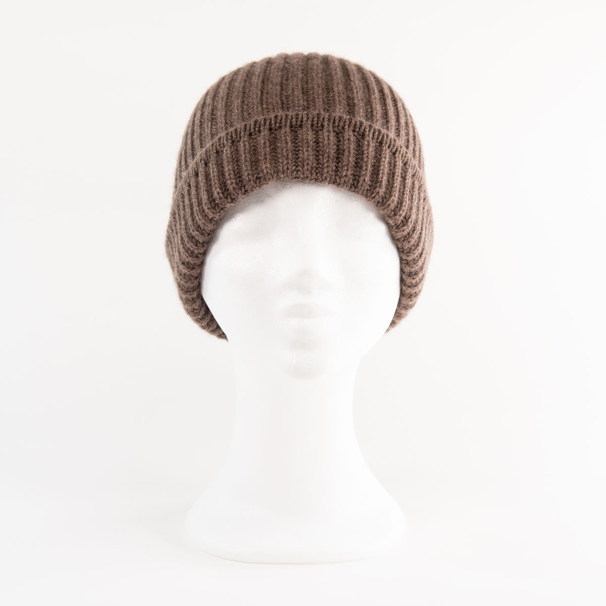 Classic Ribbed Beanie Cuff - HEATHERED LEGNO - product images  of