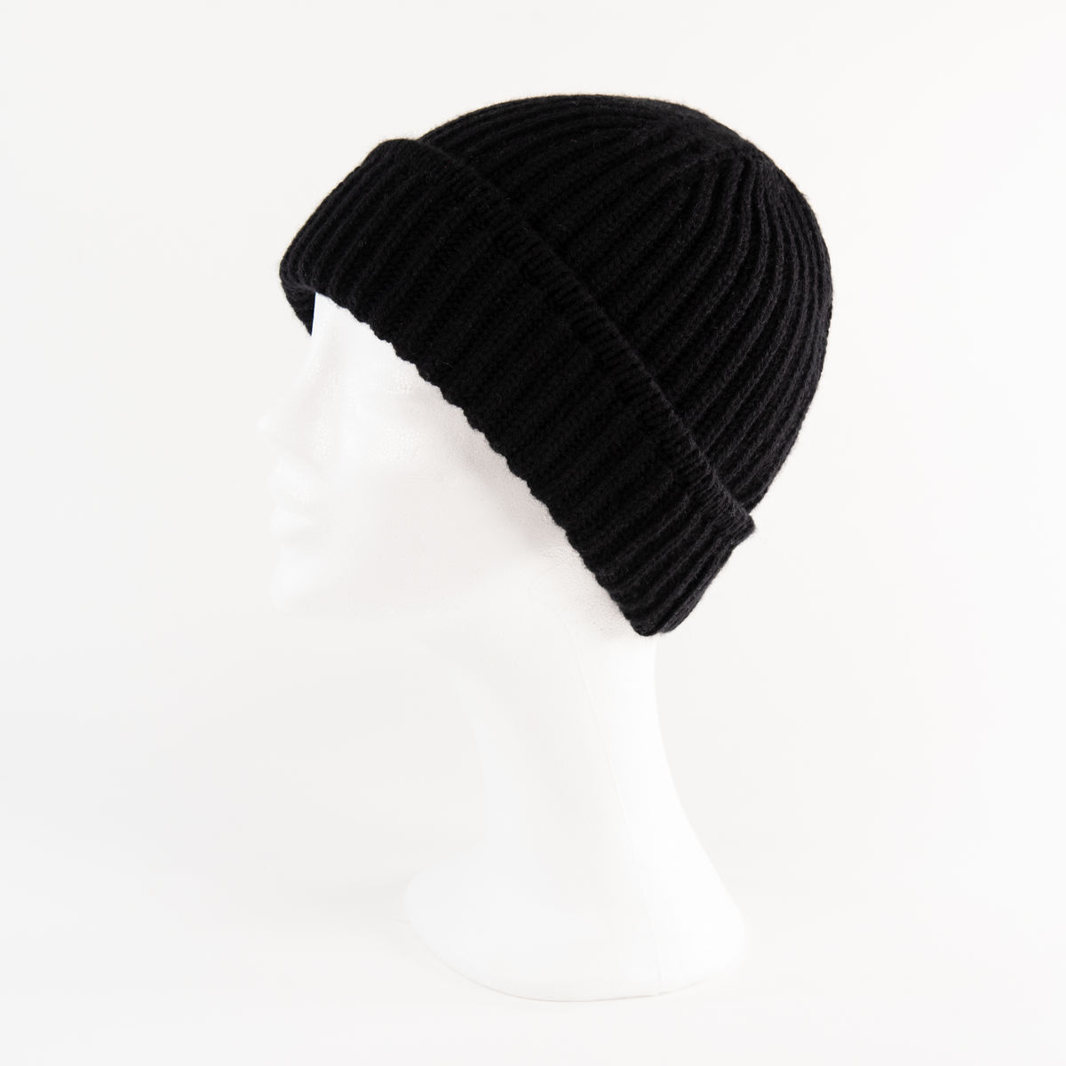 Classic Ribbed Beanie Unisex - BLACK - product images  of
