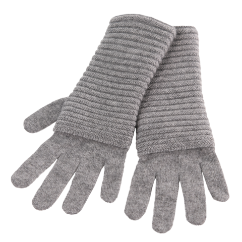 The,Wonder,Gloves,-,STEEL,GREY,The Wonder Gloves Cashmere Kaschmir steel grey grau stahl mittel melliert Handschuhe