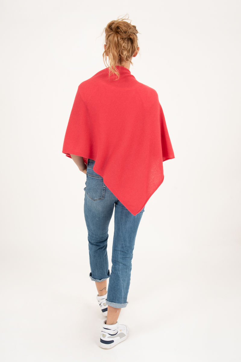 Poncho - Dress Topper - Geranium - product images  of