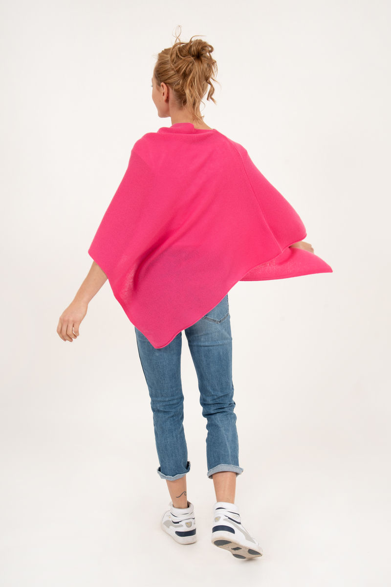 Poncho - Dress Topper - Pink Baby - product images  of