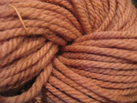 Natural,Dyed,Wool,Yarn,,,Quebracho,,Chrome,yarn ,wool ,natural dyed , natural dyed yarn, quebracho dyed yarn, peach yarn, peach wool yarn, knitting yarn, weaving yarn, crochet yarn,  3 ply yarn ,3 ply wool yarn, BrushCreekWoolWorks, Brush Creek Wool Works