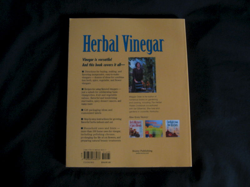 Herbal Vinegar written by Maggie Oster - product images  of
