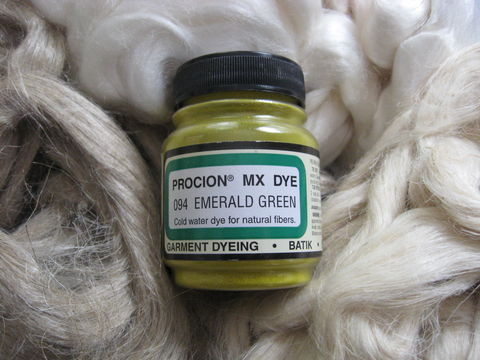 Jacquard,Procion,MX,Dye,,Emerald,Green,094,,for,Plant,Cellulose,Fibers,dye, Jacquard dye, Emerald Green, Emerald Green dye, green dye,  tie dye, plant dye, cellulose dye , Procion MX dye, Procion dye, cotton dye, linen dye, flax dye, bamboo dye, basket dye, ramie dye,  BrushCreekWoolWorks, Brush Creek Wool Works