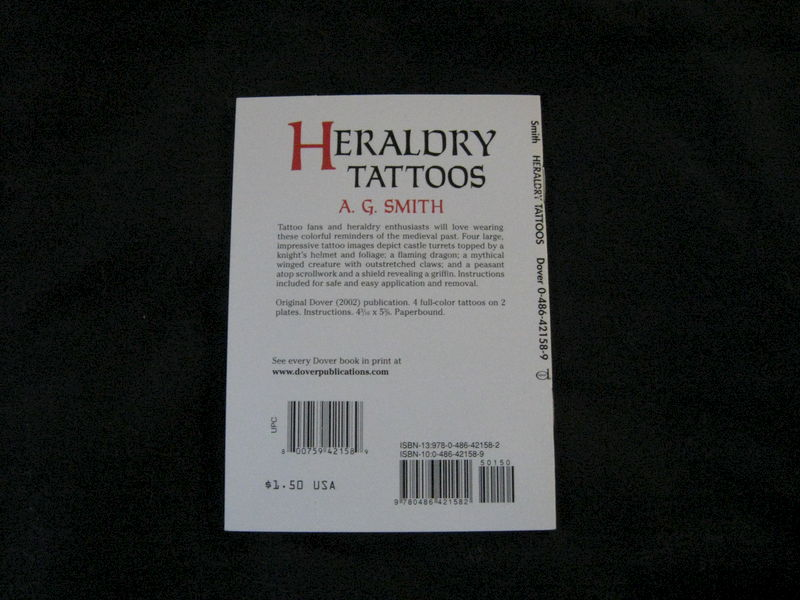 Heraldry Tattoos by A.G. Smith - product images  of