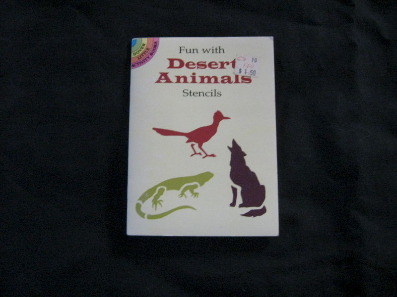 Fun with Desert Animal Stencils by Paul E. Kennedy - product images  of
