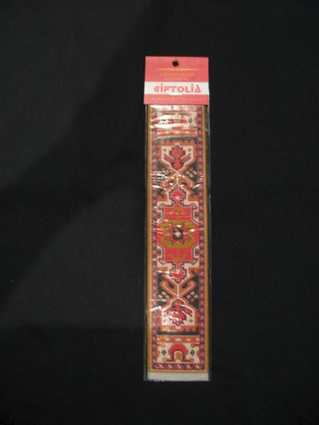 Turkish,Woven,Bookmark,bookmark, bookmarker, Turkish, woven, book, reading, marker, red bookmark, woven bookmark, BrushCreekWoolWorks, Brush Creek Wool Works