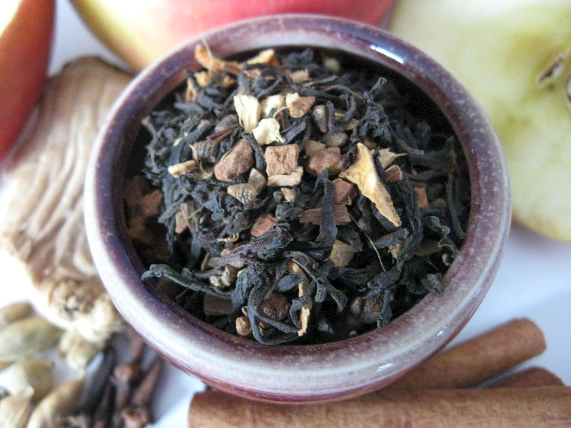 Spiced Apple Chai Tea, Black  Loose Leaf, Camellia sinensis - product images  of