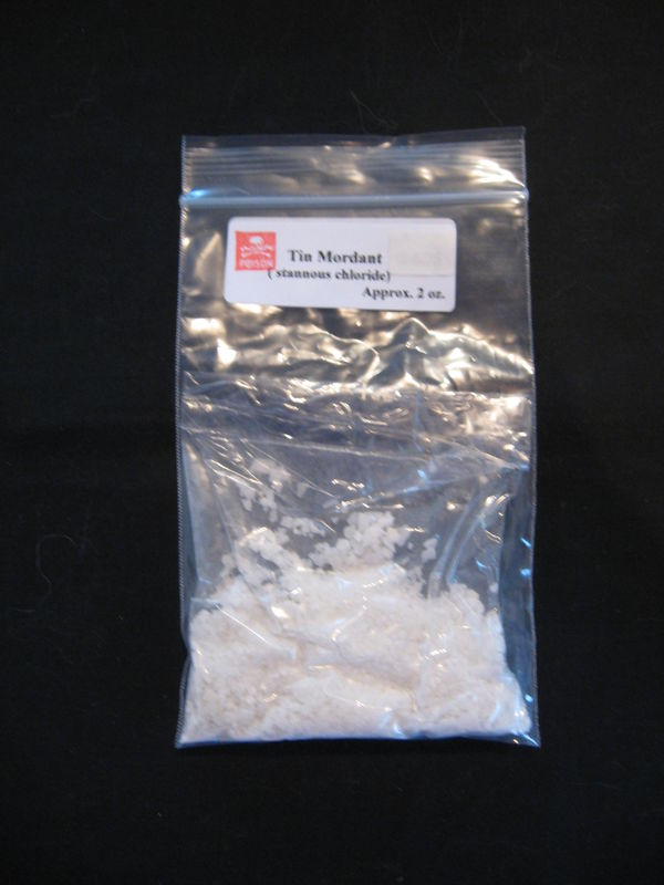 Tin, Stannous Chloride, Dyers Mordant for Natural Dyeing, Powder - product images  of
