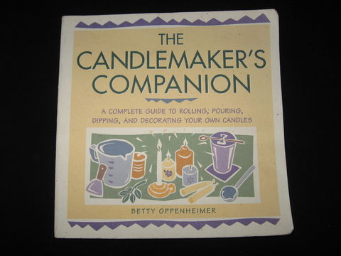 The,Candlemaker's,Companion,by,Bette,Oppenheimer,candle making, candles, candle making book, candle instructions, candle techniques, candle book, dipping candles, floating candles, sculpted candles,  poured candles, rolled candles, Bette Oppenheimer, BrushCreekWoolWorks, Brush Creek Wool Works