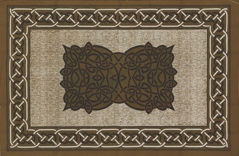 Celtic,Throw,Square,Design,,,Brown,throw, tapestry, Celtic throw, Celtic tapestry, Celtic knot work,  cotton throw, bedspread, twin bedspread, BrushCreekWoolWorks, Brush Creek Wool Works