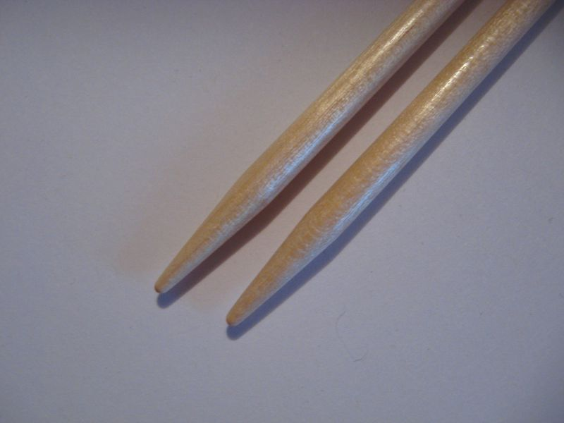 Brittany Double Point Knitting Needles, 10 inches Long , Wood, Set of 5 Needles - product images  of