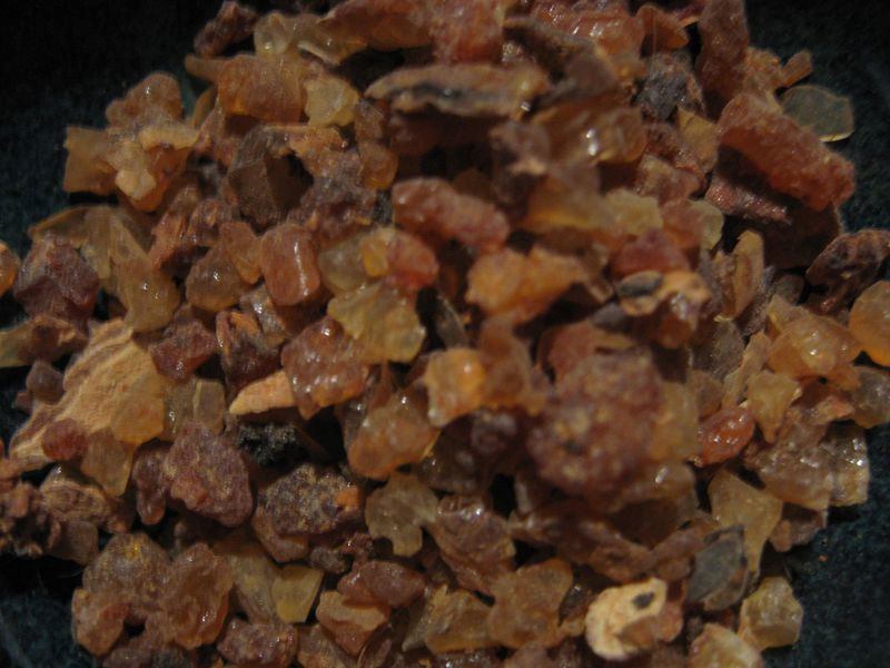 Myrrh Resin Pieces, Commiphora molmol - product images  of