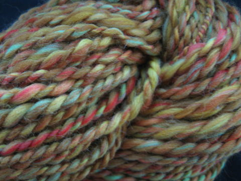 Fiesta,Multi,color,Hand,Spun,Merino,Wool,Yarn,,2,ply,fiesta, orange, orange yarn ,yarn, handpun yarn, handspun, wool yarn, mulit color yarn, 2 ply ,  knitting, crochet, weaving, BrushCreekWoolWorks, Brush Creek Wool Works