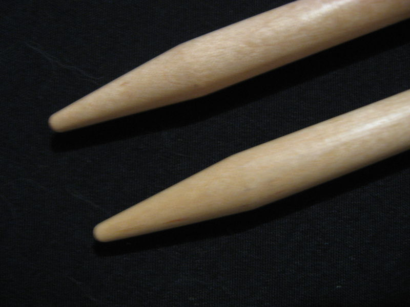 Double Pointed 10 inch Brittany Birch Knitting Needles, Large Sizes - product images  of