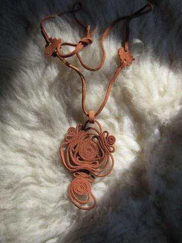 Leather,Necklace,Petroglyph,Design,leather,necklace, leather, brown, jewelry,leather necklace, leather pendant, Native American, petroglyph, BrushCreekWoolWorks, Brush Creek WoolWorks