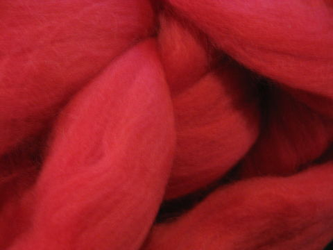 Red,Merino,Wool,Roving,fiber, wool,roving,red roving, red wool roving, spinning , felting , needle felting, merino roving, merino fiber, wool roving, spinning roving, spinning wool , red merino roving , BrushCreekWoolWorks, Brush Creek Wool Works